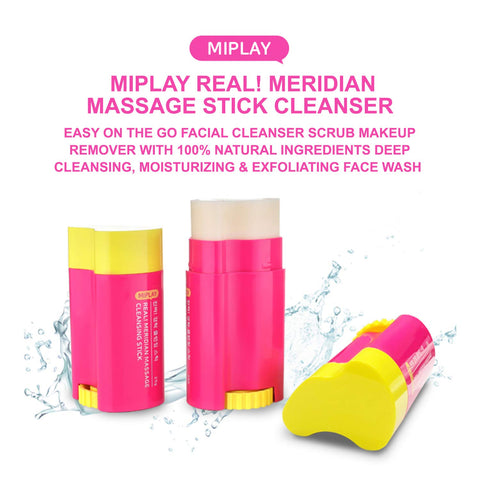 MIPLAY Real! Meridian Massage Cleansing Stick