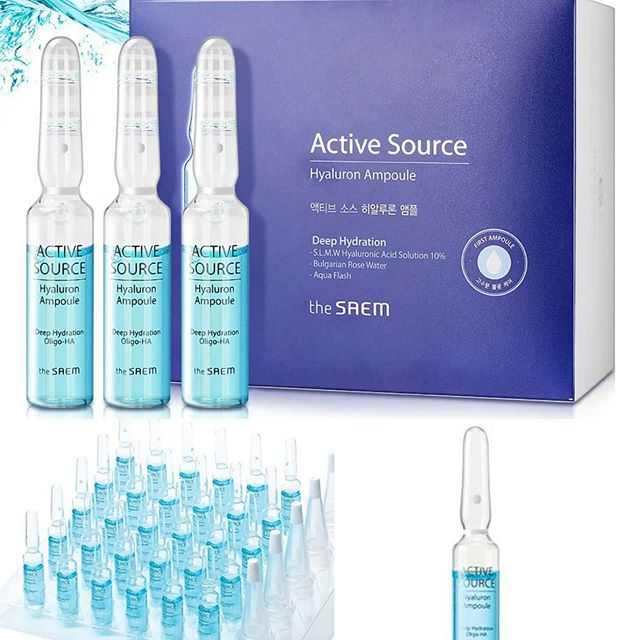The SAEM Active Source Hyaluron Ampoule