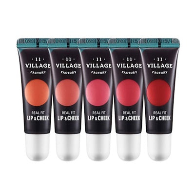 Village 11 Factory Real Fit Lip and Cheek