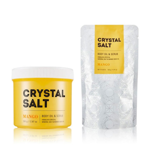 Missha Crystal Salt Body Oil & Scrub