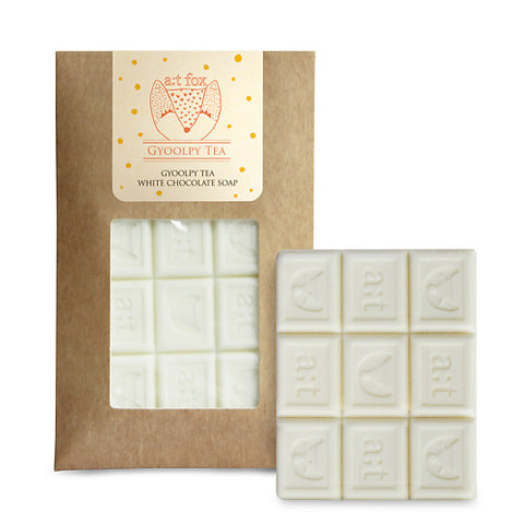 A:T FOX Gyoolpy Tea White Chocolate Soap