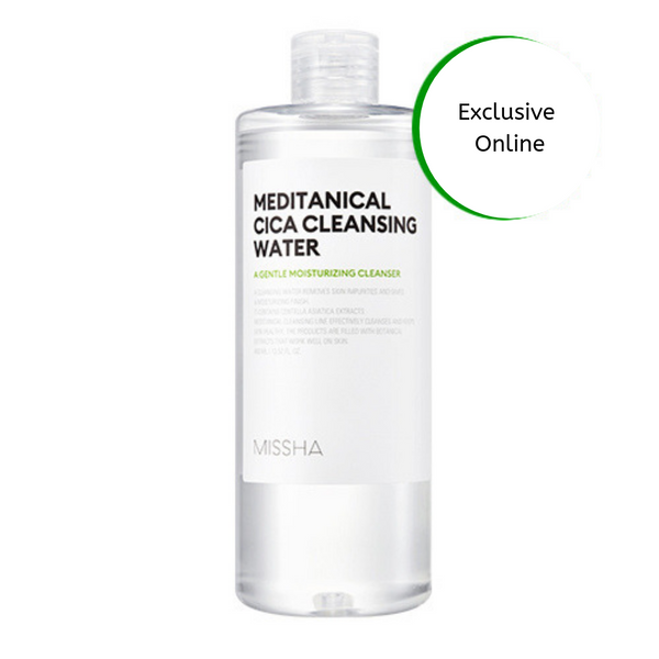 Missha Meditanical Cica Cleansing Water
