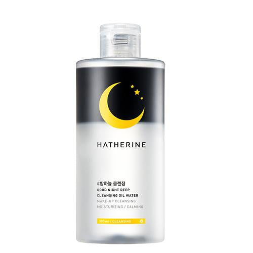 Hatherine Good Night Deep Cleansing Oil Water