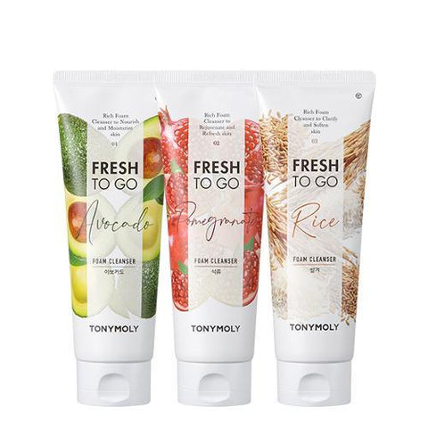 TonyMoly Fresh To Go Foam Cleanser