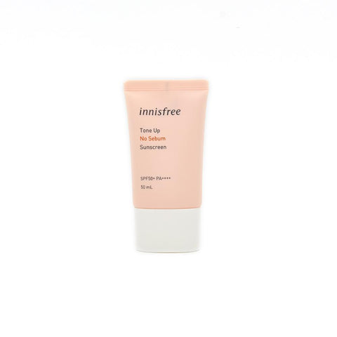 Innisfree Tone Up No Sebum Sunscreen SPF50 PA+++