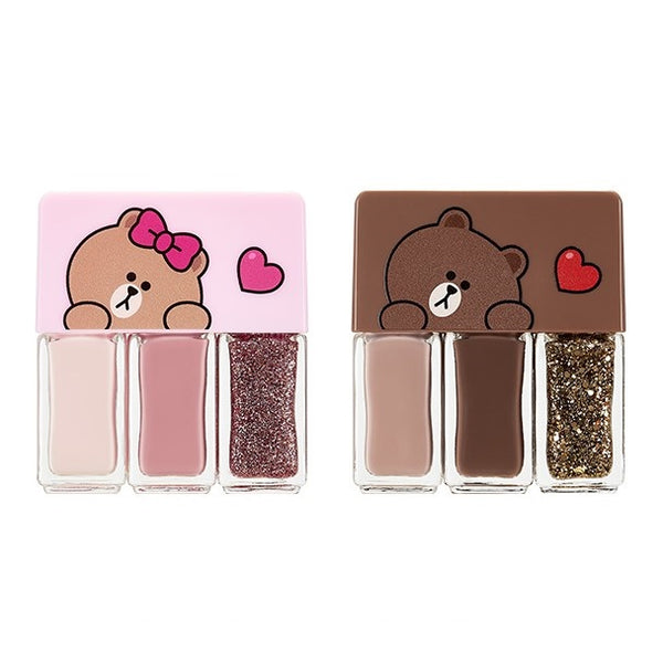 Missha Self Nail Salon Nail Kit (Line Friends)
