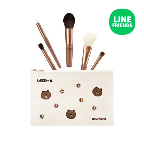 Missha Super Artistool To Go Kit (Line Friends)