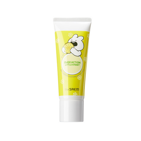 The SAEM Ice Lemon Soothing Gel For Face (Over Action Little Rabbit Edition)