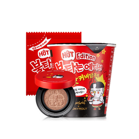 TonyMoly Hot Edition Hot Cover Chicken Cushion + Refill