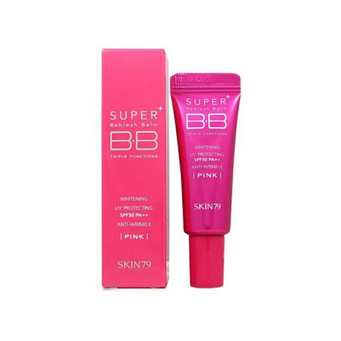 Skin79 Super Plus Beblesh Balm Triple Functions SPF30 PA++ Hot Pink