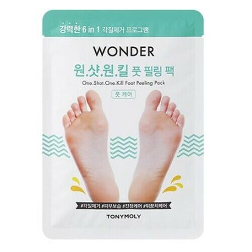 TonyMoly Wonder One Shot One Kill Foot Peeling Pack