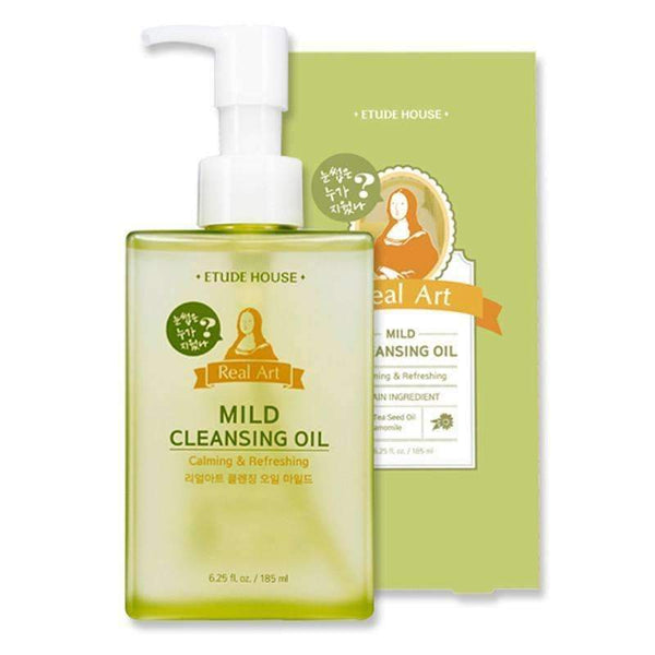Etude House Real Art Mild Cleansing Oil