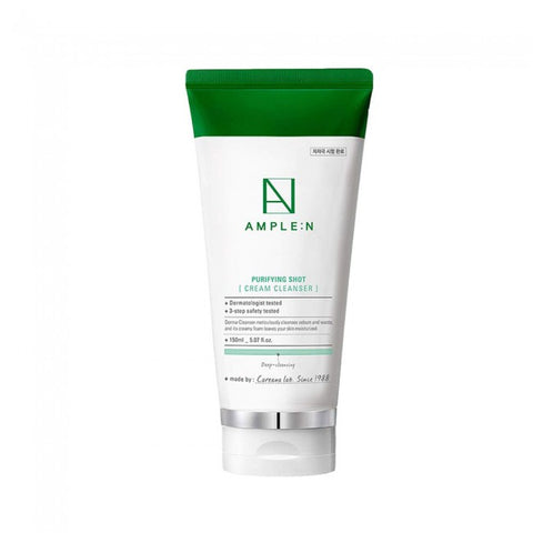 AMPLE: N Purifying Shot Cream Cleanser