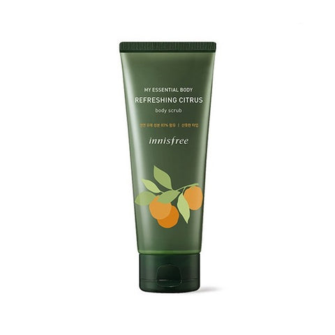 Innisfree My Essential Body Refreshing Citrus Body Scrub