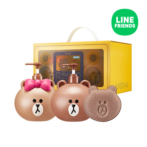 Missha Line Friends Edition Body Set Moringa