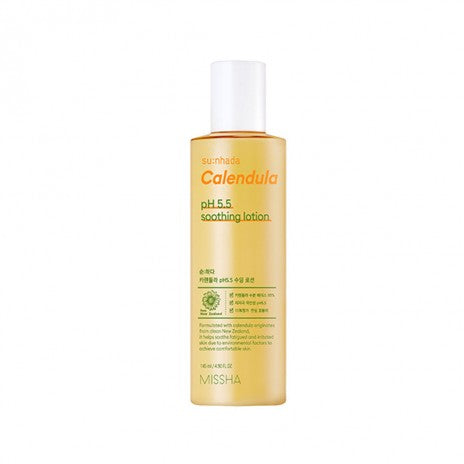 Missha Su:nhada Calendula pH 5.5 Soothing Lotion