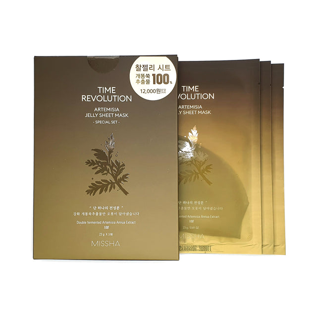 Missha Time Revolution Artemisia Jelly Sheet Mask
