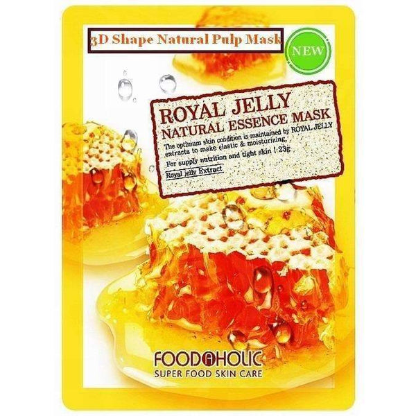 Food a Holic 3D Natural Essence Mask - Royal Jelly