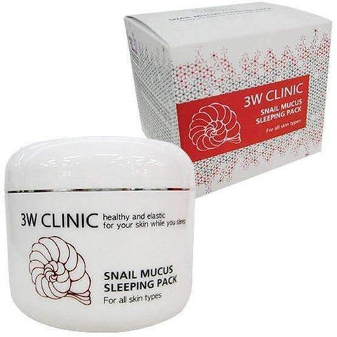 3W Clinic Snail Sleeping Pack