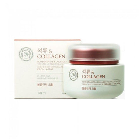 The Face Shop Pomegranate & Collagen Volume Lifting Cream