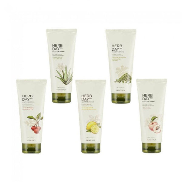 The Face Shop Herb Day 365 Master Blending Cleansing Cream