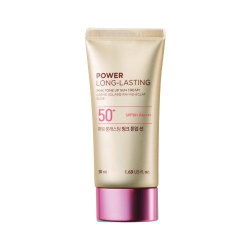 The Face Shop Power Long Lasting Pink Tone Up Sun SPF50+ PA++++