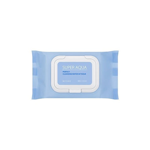 Missha Super Aqua Ultra Hyalon Cleansing Water Tissue