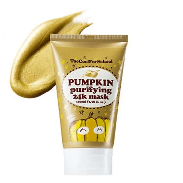 Too Cool For School Pumpkin Purifying 24K Mask