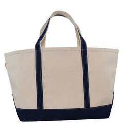 Large Tote With Zipper Closure