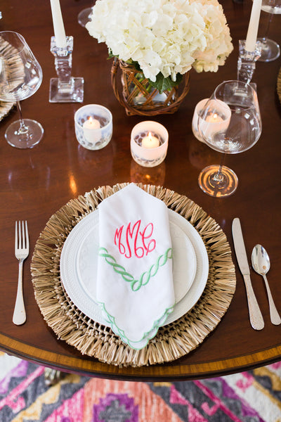Ribbon Linen Napkins