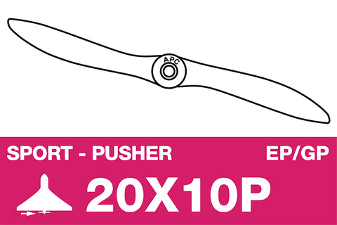 APC - Sport propeller - Pusher / Linkslopend - EP/GP - 20X10P