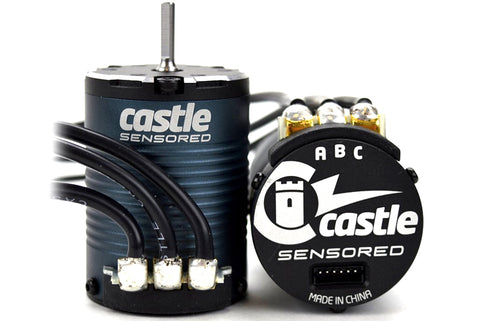 Castle - MOTOR, 4-POLE SENSORED BRUSHLESS, 1406-2850KV