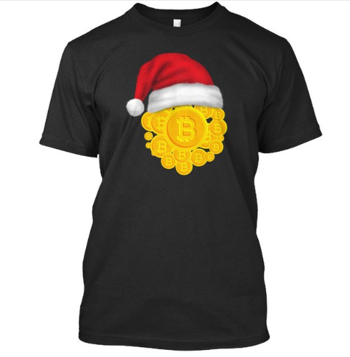 The Best Ideas For Christmas Gifts - Bitcoin T-Shirts
