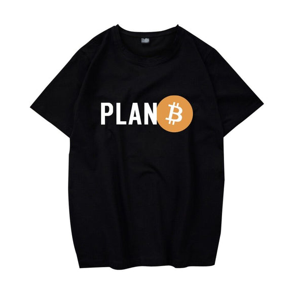 Digital currency Bitcoin Logo Cotton T-shirt Tee SHIRT t shirt Short Sleeve Sleeve Plan bitcoin Prevailing Blockchain bitcoin B