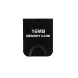 Nintendo Gamecube & Wii Black 16MB 251 Block Memory Card - Gaming Outlet