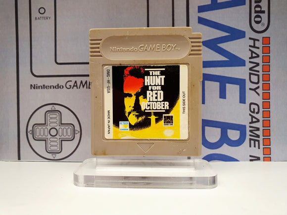 The Hunt For Red October Gameboy Game Cartridge DMG-HF-USA