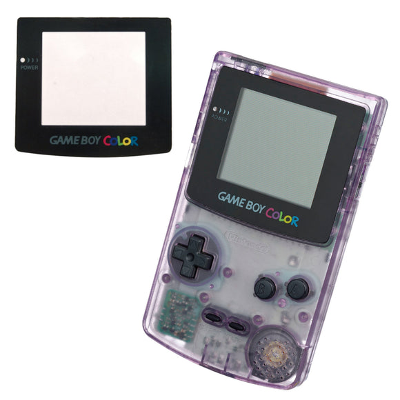 Gameboy Colour Replacement Screen Plastic Lens (GBC) - Gaming Outlet