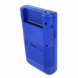 Custom Blue Re-Shell Nintendo Game Boy DMG-01 With IPS LCD Screen