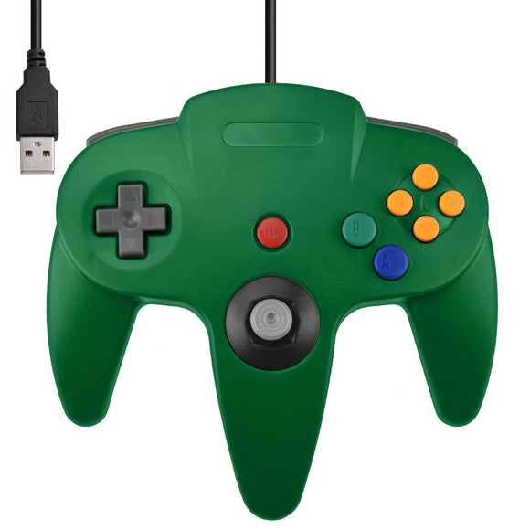 USB N64 Controller for PC & Rasberry Pi - Gaming Outlet