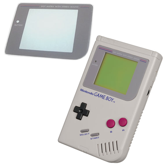 Gameboy Screen Plastic Lens for Original Model DMG-01 (Game Boy) - Gaming Outlet