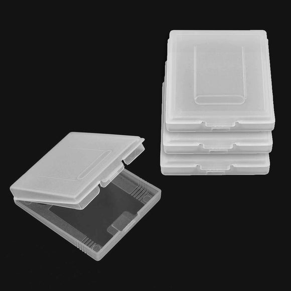 Plastic Game Cartridge Dust Cover Case For Nintendo GameBoy - 4 Pack