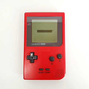 Red Nintendo Gameboy Pocket MGB-001 Console - USED