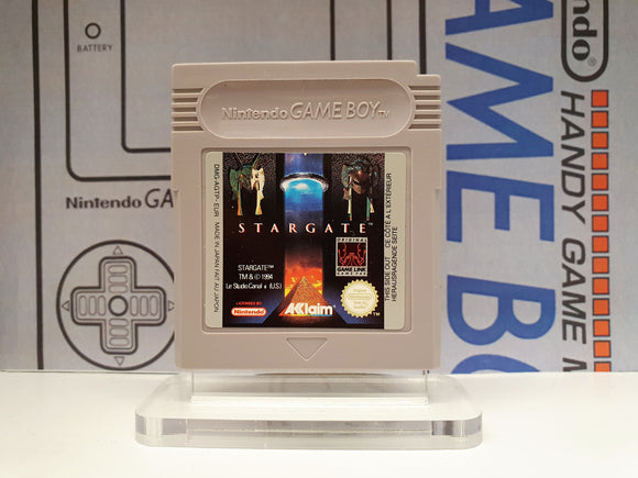 Stargate Gameboy Game Cartridge DMG-AGTP-EUR