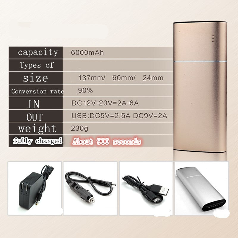 Chargeur mobile phone 6000mAh