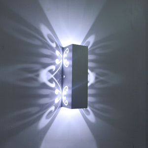 Applique aluminium LED 2 W