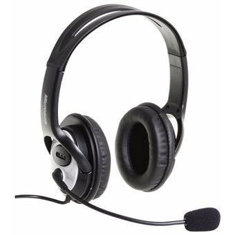 Microsoft LifeChat LX-3000 - Auricular - tamaño completo