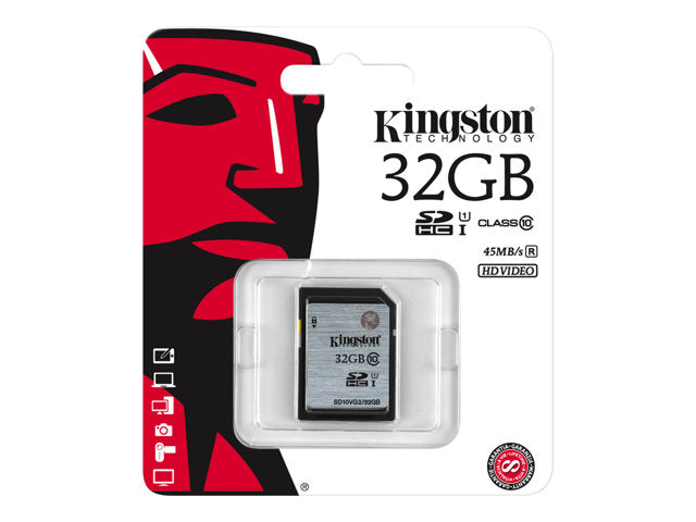 Kingston - Tarjeta de memoria flash - 32 GB