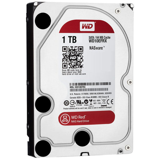 WD Red NAS Hard Drive WD10EFRX - Disco duro - 1 TB