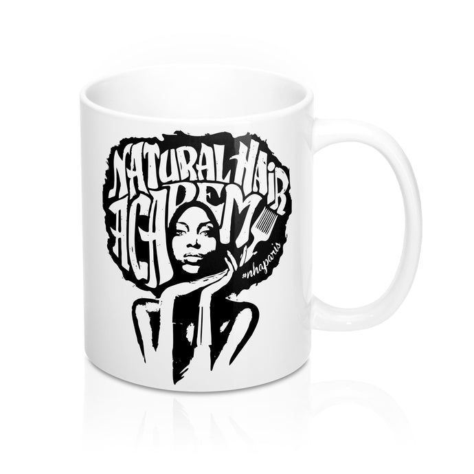 Mug - Natural Hair Academy Blanc