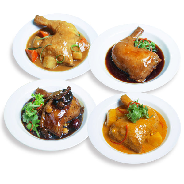 Ready-to-Eat Assorted Chicken (Frozen) - Bundle of 4